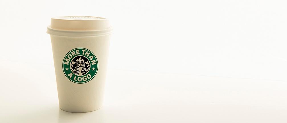 Rebrand blog coffee cup