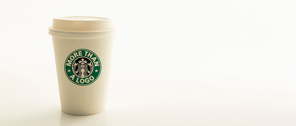 Rebrand blog coffee cup