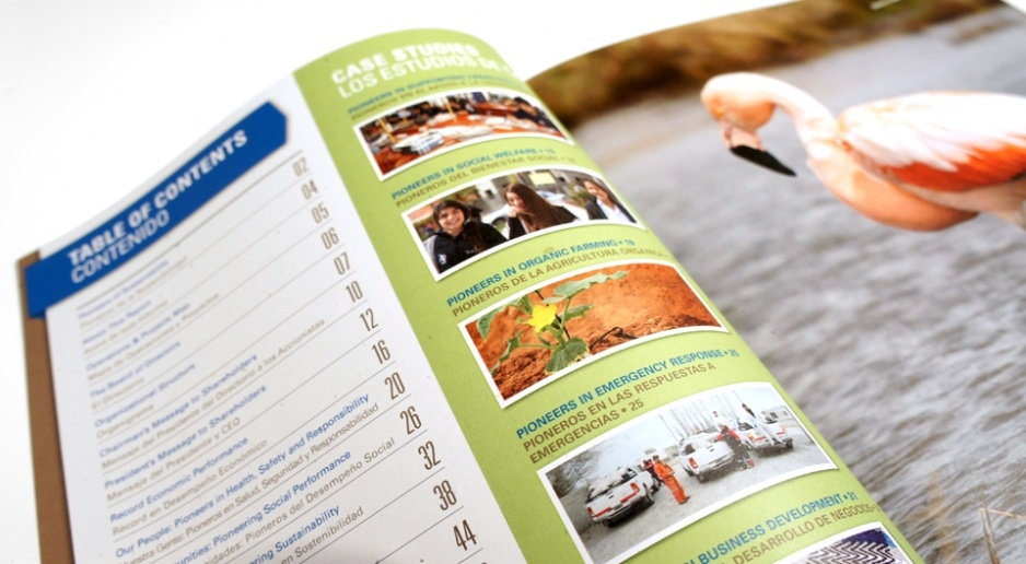 company annual reports make it flow