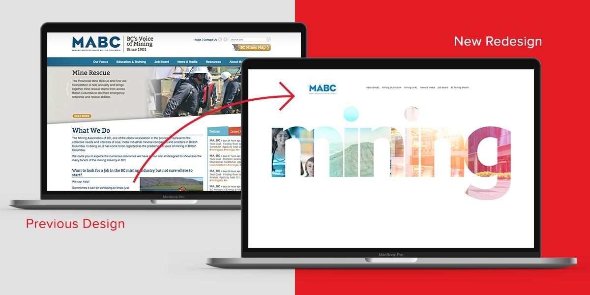 mabc-old-new-website-comparison