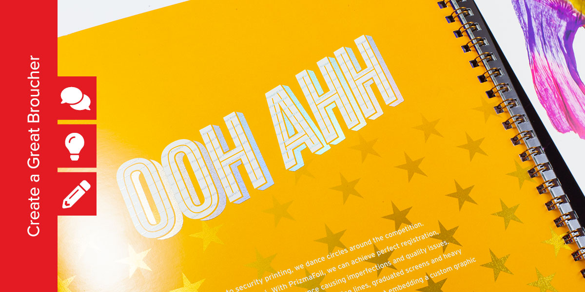 13 Step Design Process that Results in a Great Brochure